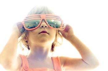 The effect reverse myopia with sunlight