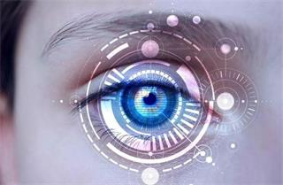 Why does blue light cause vision loss?