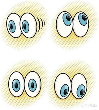 Can myopia cause nystagmus?